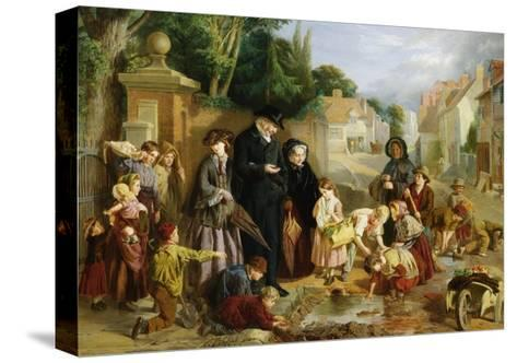 The Lost Change-William Henry Knight-Stretched Canvas Print