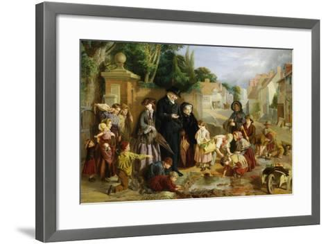 The Lost Change-William Henry Knight-Framed Art Print
