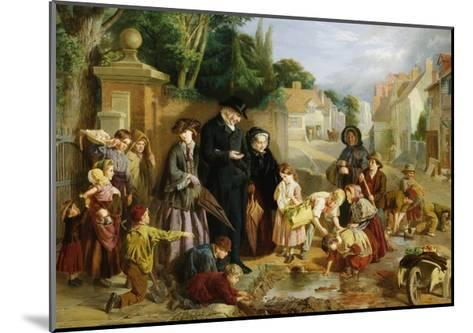 The Lost Change-William Henry Knight-Mounted Giclee Print