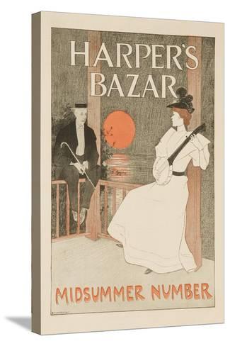 Harper's Bazar Midsummer Number Poster--Stretched Canvas Print