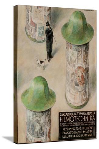 Filmotechnika Polish Film Festival Poster--Stretched Canvas Print
