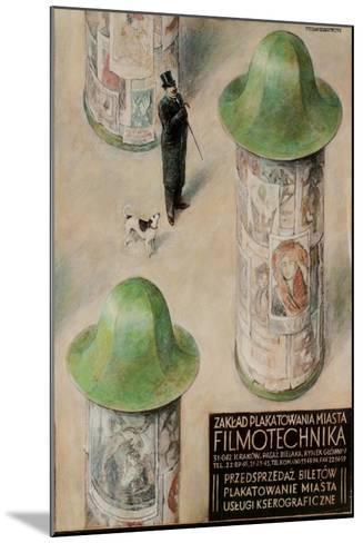 Filmotechnika Polish Film Festival Poster--Mounted Giclee Print