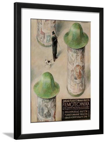 Filmotechnika Polish Film Festival Poster--Framed Art Print