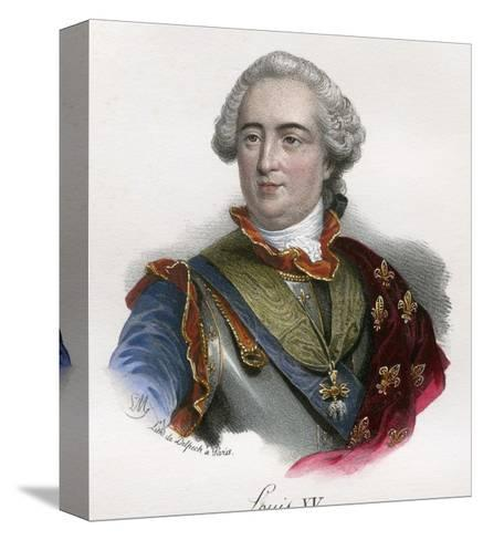 Louis XV--Stretched Canvas Print