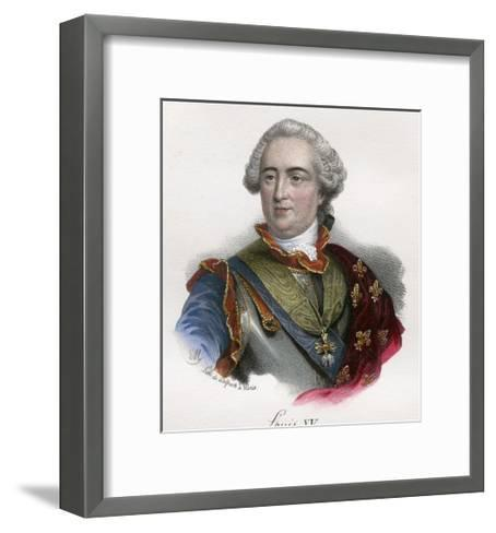 Louis XV--Framed Art Print