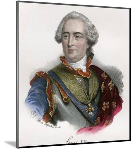 Louis XV--Mounted Giclee Print