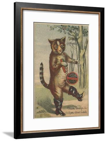 I Have Bought it Handy Box Shoe Blacking Trade Card--Framed Art Print