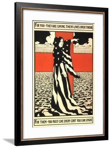 War Propaganda of Bond Sales--Framed Art Print
