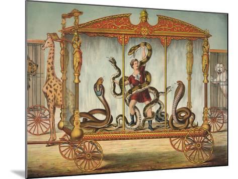 The Snake Wagon--Mounted Giclee Print