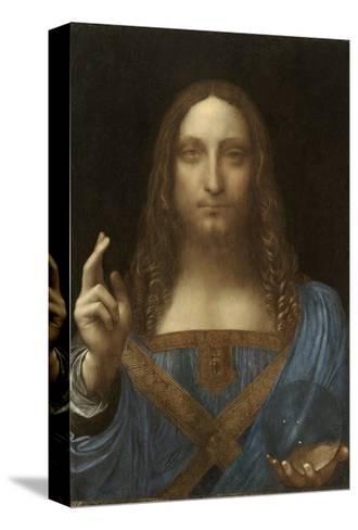 Salvator Mundi Attributed to Leonardo Da Vinci--Stretched Canvas Print