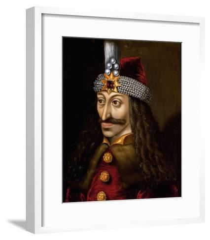 Portrait of Vlad Tepes--Framed Art Print