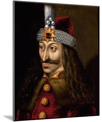 Portrait of Vlad Tepes--Mounted Giclee Print