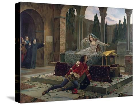 Scene from Romeo and Juliet--Stretched Canvas Print