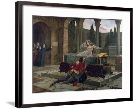 Scene from Romeo and Juliet--Framed Art Print