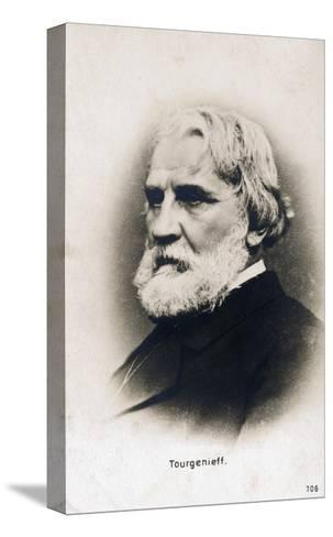 Writer Ivan Turgenev--Stretched Canvas Print