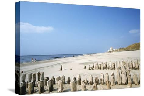Sylt Beach-Hans Georg Roth-Stretched Canvas Print