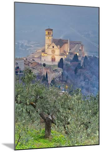 Italy, Umbria, Perugia District, Assisi, Basilica of San Francesco.-Francesco Iacobelli-Mounted Photographic Print