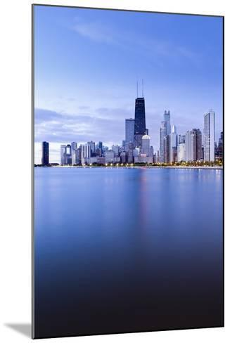 Usa, Illinois, Chicago, the Hancock Tower and Downtown Skyline from Lake Michigan-Gavin Hellier-Mounted Photographic Print