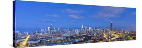 Usa, Illinois, Chicago, City Skyline-Gavin Hellier-Stretched Canvas Print