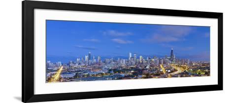 Usa, Illinois, Chicago, City Skyline-Gavin Hellier-Framed Art Print