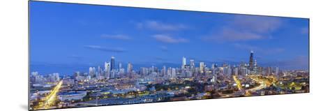 Usa, Illinois, Chicago, City Skyline-Gavin Hellier-Mounted Photographic Print