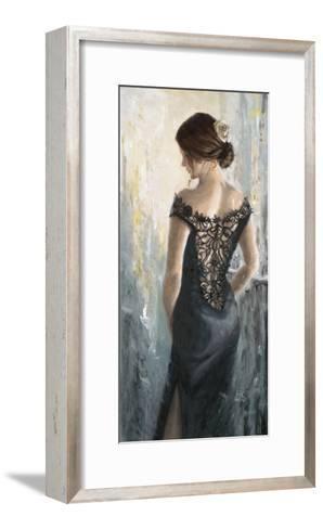 Black Lace, White Rose Art Print by Karen Wallis   Art.com