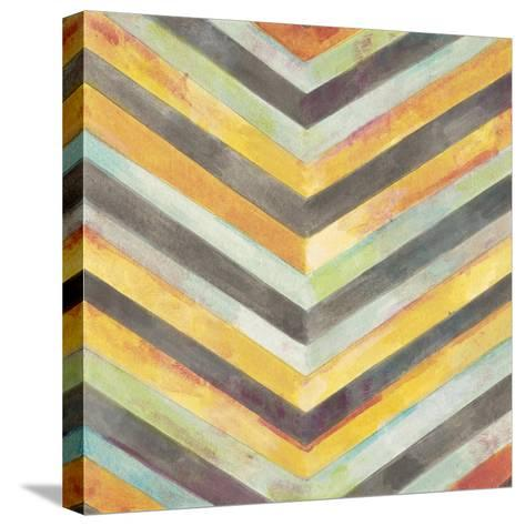 Rustic Symetry 4-Norman Wyatt Jr^-Stretched Canvas Print