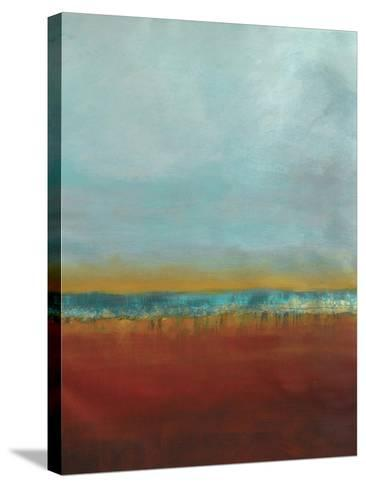 Red Seas 2--Stretched Canvas Print
