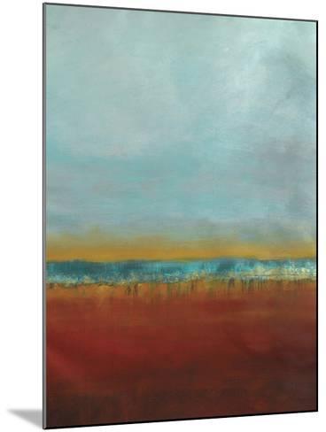 Red Seas 2--Mounted Art Print