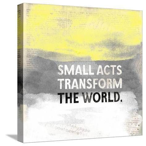 Small Acts-Evangeline Taylor-Stretched Canvas Print