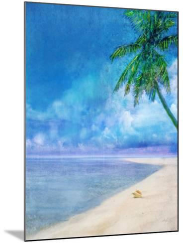 Palm Beach and Shell-Ken Roko-Mounted Art Print