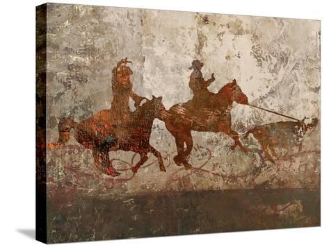 Cowboys 1-Sokol-Hohne-Stretched Canvas Print
