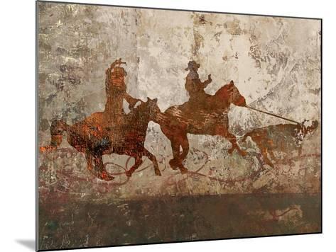 Cowboys 1-Sokol-Hohne-Mounted Art Print