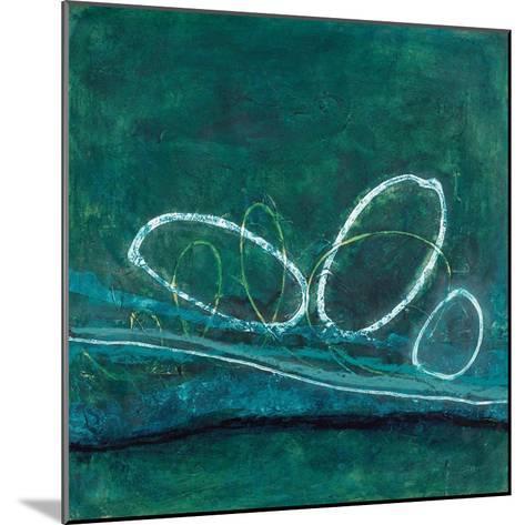Oval Blues 1-Filippo Ioco-Mounted Art Print