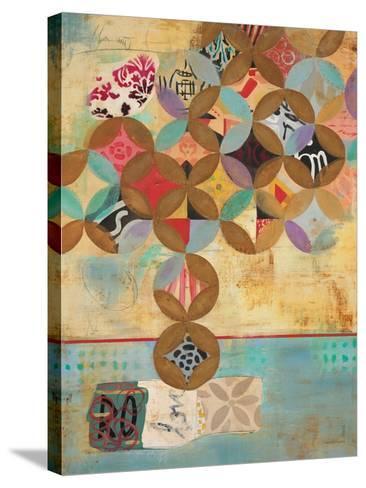 Modern Abstraction 1-Gabriela Villarreal-Stretched Canvas Print