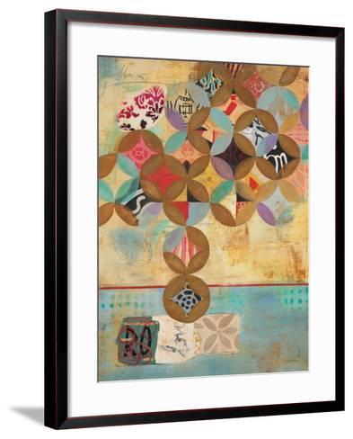 Modern Abstraction 1-Gabriela Villarreal-Framed Art Print