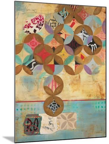 Modern Abstraction 1-Gabriela Villarreal-Mounted Art Print