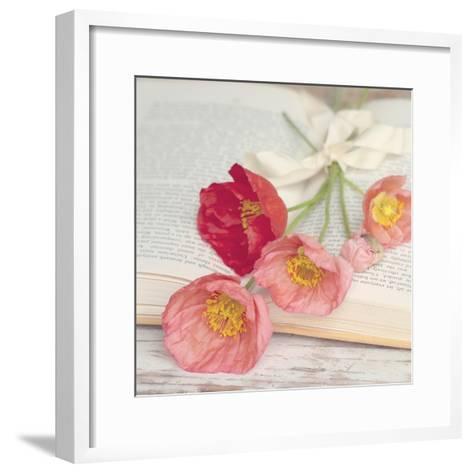 Well Red Poppy-Mandy Lynne-Framed Art Print