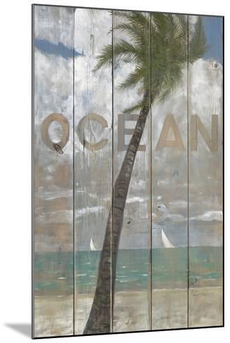 Ocean Sign-Arnie Fisk-Mounted Art Print