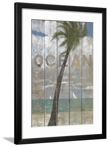 Ocean Sign-Arnie Fisk-Framed Art Print