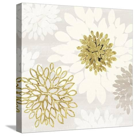 Gilded Aesthetic Bloom-Bella Dos Santos-Stretched Canvas Print