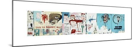Life like Son of Barney Hill-Jean-Michel Basquiat-Mounted Giclee Print