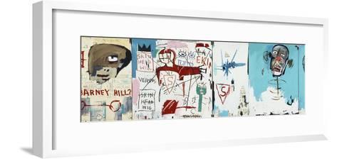 Life like Son of Barney Hill-Jean-Michel Basquiat-Framed Art Print