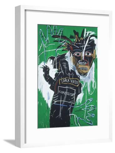 Self-portrait as a Heel Part Two-Jean-Michel Basquiat-Framed Art Print