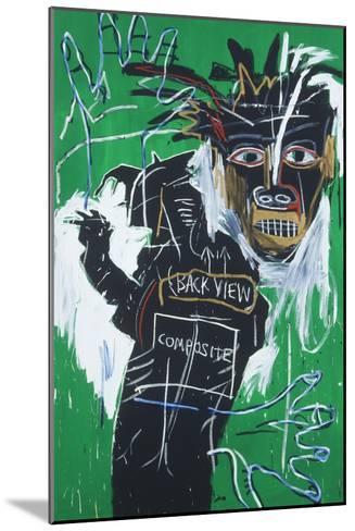 Self-portrait as a Heel Part Two-Jean-Michel Basquiat-Mounted Giclee Print