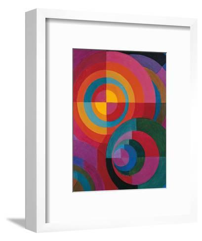 Circles-Johannes Itten-Framed Art Print