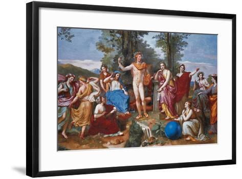 The Parnassus-Anton Raphael Mengs-Framed Art Print