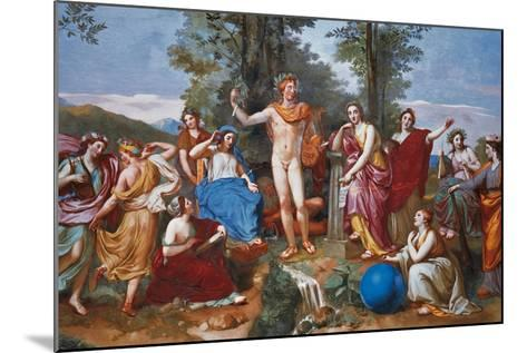 The Parnassus-Anton Raphael Mengs-Mounted Giclee Print