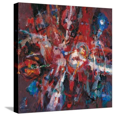 Fire Burning Out-Renato Birolli-Stretched Canvas Print