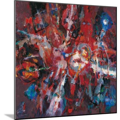 Fire Burning Out-Renato Birolli-Mounted Giclee Print